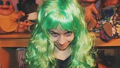 Algo divertido (Mariajojojo) Tags: loca divertido miedo peluca verde