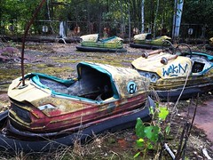 Pripyat amusement park (Flopsy665) Tags: pripyat chernobyl exclusionzone urban ukraine abandoned creepy themepark