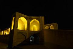 iran_014 (muddycyclist) Tags: panasonic lumix lx7 iran isfahan esfahan bridge night