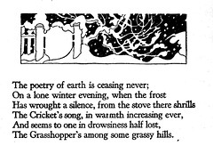 When a frost has wrought a silence (katinthecupboard) Tags: vintagesilhouettes silhouettes vintagepoetry vintagechildrenspoetry 1931 janetlaurascott scottjanetlaura winter snow snowscape gate gardengate