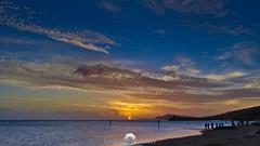 Hawaii Kai Sunset (Stephen Ball Photography) Tags: sunset sun evening eveningsky clouds ocean pacificocean sea seaside seashore coast coastal coastline seascape sky beautiful diamondhead hawaii hawaiianislands hawaiikai oahu beach maunaluabay canon canon5dmkiii5d canoneos5dmarkiii 1635mm stephenballphotography stephenball stephenballphoto wwwstephenballphotocom