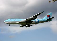Korean Boeing 747-4B5 HL-7402 (Retro Jets) Tags: korean special b744 lhr monalisa