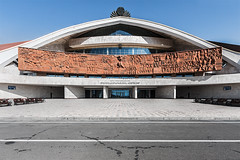 (ilConte) Tags: armenia armenian yerevan architettura architecture architektur modernism socialist socialism karendemirchyan