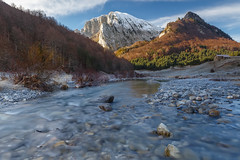 Ezkaurre (Alfredo.Ruiz) Tags: zuriza ezcaurre pirineos snowed mountain river winter beech forest tree calm cold