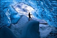 Blue (TXA Photography) Tags: iceland icelandphototours winter january travel europe fourseasons ice cave landscape icescape snow sky longexposure canon canon5d canon5dmkiii leefilter
