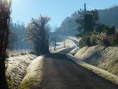 chemin du Balent (domclavaud) Tags: auch gers occitanie paysage nature automne chemin du balent route givre