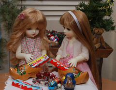 6th December (Little little mouse) Tags: customhouse petite sariel ws sarah hanael ns hannah bjd dollfie
