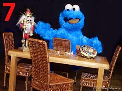 Dezember (alegras dolls) Tags: cookiemonster christmas 16scale sesamestreet cookie nutcracker