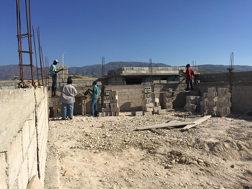 Progress on the Medical Clinic Site.