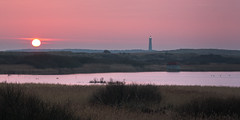 Red Light (Joep10) Tags: ameland netherlands sunset lighthouse red
