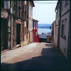 Fishermen's quarter-II, (davidgarciadorado) Tags: galicia velvia fisherman diapositive film 120 6x6 rolleiflex plannar spain rural cantabricsea slide positivecolorfilm