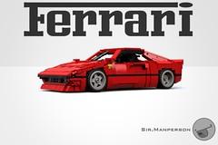 Ferrari 288 GTO - 13-wide - Lego (Sir.Manperson) Tags: lego ferrari moc