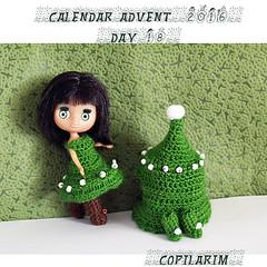 Midori - LPS (Rux - Copilarim) Tags: blythe lps midori crocheted christmas three costume