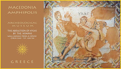 Macedonia, Amfipolis, archeological museum, mosaic depicting Hylas' abduction by the Nymphs,   #Amphipolis (Macedonia Travel & News) Tags: macedonia ancient culture vergina sun thessaloniki chalkidiki monastery orthodox republic nato eu fifa uefa un fiba serres mavrovo macedoniablog 119429130 macedoniagreece makedonia timeless macedonian macédoine mazedonien μακεδονια македонија travel prilep tetovo bitola kumanovo veles gostivar strumica stip struga negotino kavadarsi gevgelija skopje debar matka ohrid heraclea lyncestis