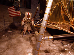 """Astronaut by Apollo Lunar Module simulator • <a style=""""font-size:0.8em;"""" href=""""http://www.flickr.com/photos/34843984@N07/14926052894/"""" target=""""_blank"""">View on Flickr</a>"""