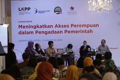 Diskusi tentang Gender dalam Pengadaan Pemerintah