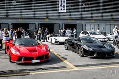 Italian pride (*AM*Photography) Tags: italian nikon ferrari exotic lamborghini rare supercar autodromo paddock monza topgear d3200 hypercar worldcar worldcars laferrari aventador exsclusive tgcup