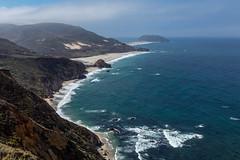 California Pacific Coast - 108 (www.bazpics.com) Tags: ocean california ca sea summer cliff beach water one 1 coast big sand highway waves unitedstates pacific coastal carmel sur barryoneilphotography
