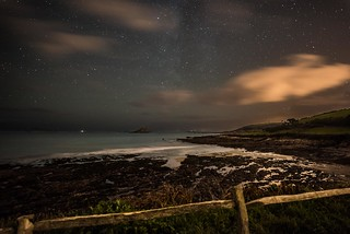 Wembury Beach and Milkyway