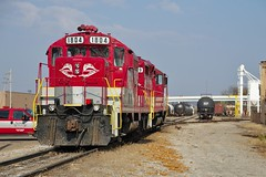 RJCL 1804 Dover Yard 10/26/14 (Poker2662) Tags: ohio yard rj dover 1804 corman gp16 102614 rjcl