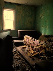 It's Been Too Long (f.o.s.) Tags: old urban house history abandoned window vintage peeling paint decay room couch sofa urbanexploration springs exploration derelict mattress abandonment decayed crumbling urbex rurex peelies