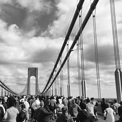upload (mjblanchard) Tags: race square marathon nycmarathon squareformat statenisland 2014 newyorkcitymarathon verazzanonarrowsbridge iphoneography instagramapp uploaded:by=instagram foursquare:venue=4a43c0aef964a520c6a61fe3