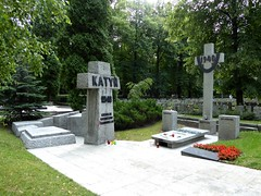 Katyn memorial in Powązki Military Cemetery (stillunusual) Tags: travel history monument germany memorial war russia massacre wwii poland polska ukraine roosevelt churchill ww2 murder warsaw warmemorial genocide katyn warszawa stalin sovietunion worldwar2 ussr secondworldwar warcrime 2014 cmentarz pomnik travelphotography polishhistory powązki militarycemetery travelphoto beria cmentarzwojskowy powazki massmurder travelphotograph nkvd katyń katynmemorial katynmonument katynmassacre katyńmassacre historiapolski historyofpoland katyńmemorial katyńmonument powązkimilitarycemetery powazkimilitarycemetery