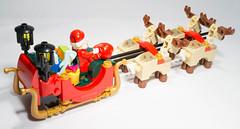 Lego 10245 - Santa's Workshop (gnaat_lego) Tags: santa winter lego review noel workshop 10245