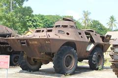 Anglų lietuvių žodynas. Žodis armored vehicle reiškia šarvuotos transporto priemonės lietuviškai.