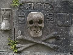 The Wicker Man - Anwoth Kirk (World of Izon) Tags: fern stone skulls gravestones churchyards crossbones anwothkirk