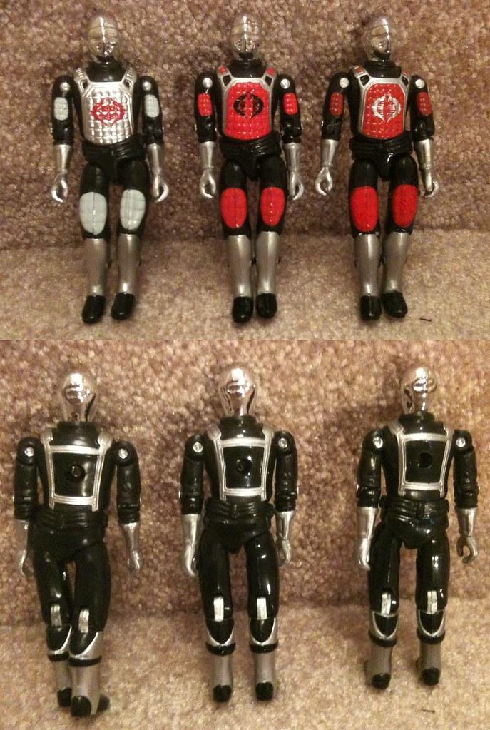 Black Major Crimson De Aco Custom Action Figure