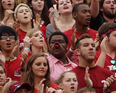 University of Arkansas Football vs Nichols State University (Garagewerks) Tags: college sport football university all state bigma sony sigma arkansas vs sec nichols razorbacks 50500mm f4563 slta77v