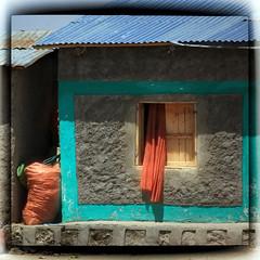 Ethiopia Window (mckenziemedia) Tags: house window canon square eos curtain l 5d ethiopia awassa 100400mm markii hawassa