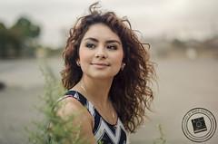 Linda (Marie Sturges ⚓) Tags: california camera pink portrait cute girl hair 50mm bay nikon dress curly linda area mm nikkor dslr 50 alameda chevron d7000
