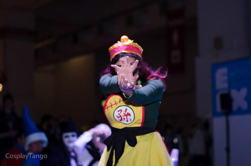 anime ball dragon cosplay kamehameha manga videogames z cosplayer otaku dragonball dragonballz vegeta gohan 2014 saiyan genderbender eurogamer egx