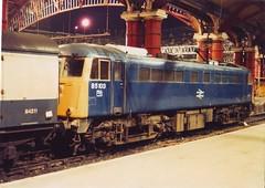 85103 (ee20213) Tags: liverpool br britishrail 851 al5 brblue class85 liverpoollimestreet 85010 85103 84211 e3065