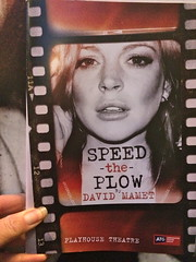 Speed the Plow (Sarah_Ackerman) Tags: england london theater lindsaylohan davidmamet playhousetheatre speedtheplow