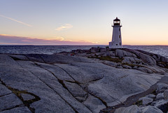 After the Sunset at Peggy's Cove, Nova Scotia (internat) Tags: sunset canada novascotia ns peggyscove hdr 2014 ligthouse