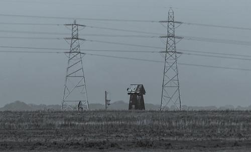 Fritton marsh drainage mill