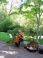 "Man playing Cello & Selling CDs • <a style=""font-size:0.8em;"" href=""http://www.flickr.com/photos/34843984@N07/15359459669/"" target=""_blank"">View on Flickr</a>"