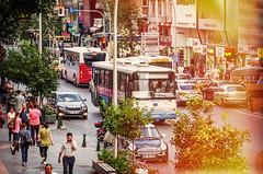 Blent on Gllk (Melissa Maples) Tags: road street bus turkey nikon asia traffic trkiye lightleak antalya nikkor vr afs  18200mm  f3556g  18200mmf3556g gllk d5100 iphoneland