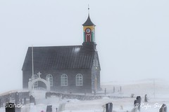 Church in wintertime
