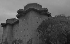 Hamburg Flakturm (LakeRidge Photography) Tags: 2 tower vintage germany concrete downtown wwii hamburg historic massive cannon shelter flak reich bombshelter worldwartwo antiaircraft repurpose airraid