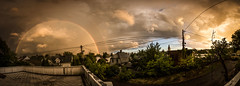 FULLDOUBLERAINBOW (davis_janis) Tags: panorama norway canon norge rainbow angle wide double full 1022 fredrikstad t4i