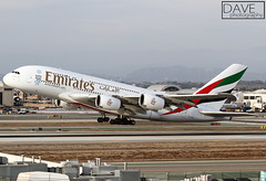 "Emirates ~ A380-861 ""A6-EEQ"" (*DavE - PhotographY*) Tags: uae emirates airbus a380 ek lax airbusa380 klax a380861 a6eeq"