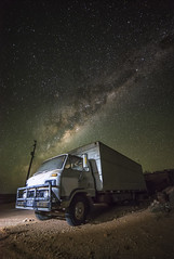 Ride the Milky Way (aquanuke) Tags: way stars photography star long exposure australia astro outback milky milkyway coober pedy