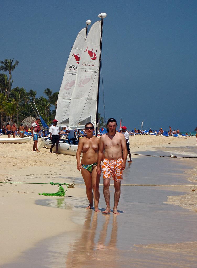 can a beach Punta topless