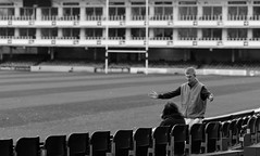 He missed by this much (Just Ard) Tags: street uk england urban bw white man black men monochrome photography prime mono nikon bath rugby candid streetphotography 85mm ground somerset pitch nikkor gesture unposed primelens d7000 justard