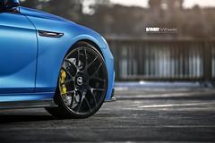 "BMW 640i Matte Blue | V710 Gloss Black 22"" (VMR Wheels) Tags: blue wheels bmw luxury v710 matte vmr brembo 6series 22inch f06 glossblack powdercoat aerosport et40 grancoupe customfinish 640i bigbrake velocitymotoring matteblue et33 vmrwheels 22x9 22x105 arkym frozenmatteblue"