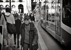 Kappa (Thomas8047) Tags: street city people urban bw sun streetart monochrome schweiz switzerland women faces swiss candid strasse zurich streetphotography streetportrait tram streetlife streetscene portraiture stadt streetphoto zrich kappa bahnhofstrasse onthestreets strassenszene zri streetfashion streetphotographer vbz fascinationstreet schwarzundweiss zrilinie streetphotographie streetpix zrichzurich strassenfotografie strasenfotografie 17552 stphotographia zrichstreet nikond300s snapseed fineartstreetphotography streetartzri thomas8047 streetphotographyschweiz zrichstreetphotography